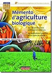 Memento Agriculture Biologique
