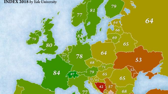Comparatif Mondial De La Performance Environnementale Des Pays
